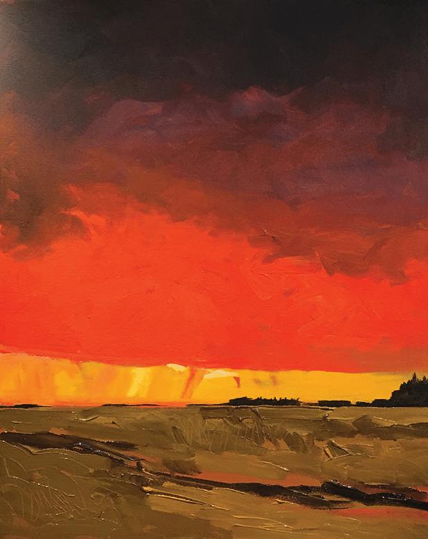 RED SKY, MANITOBA